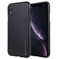 Liquid kryt Mercury Goospery na iPhone XR - Dark Black