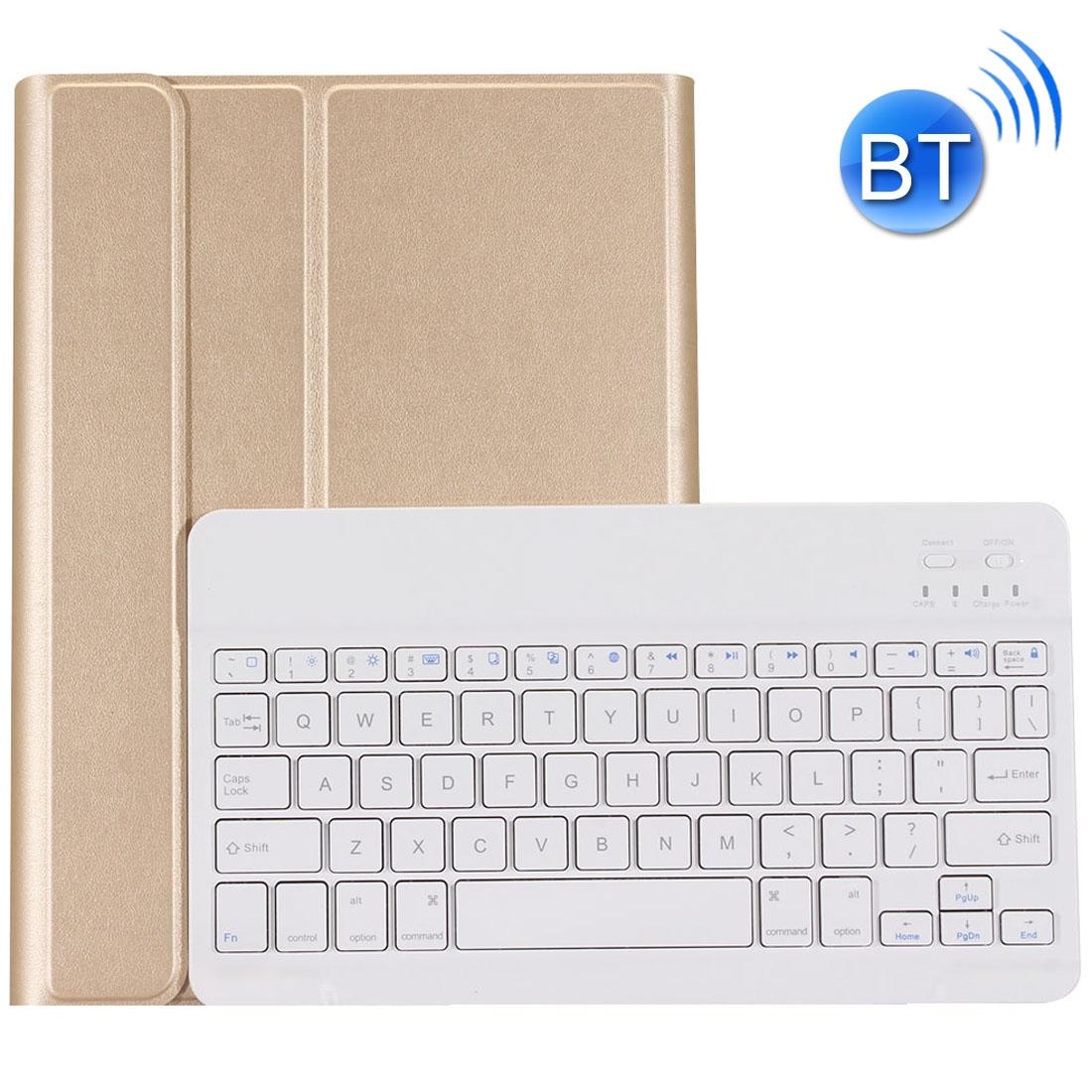 Bluetooth klávesnice - zlatá