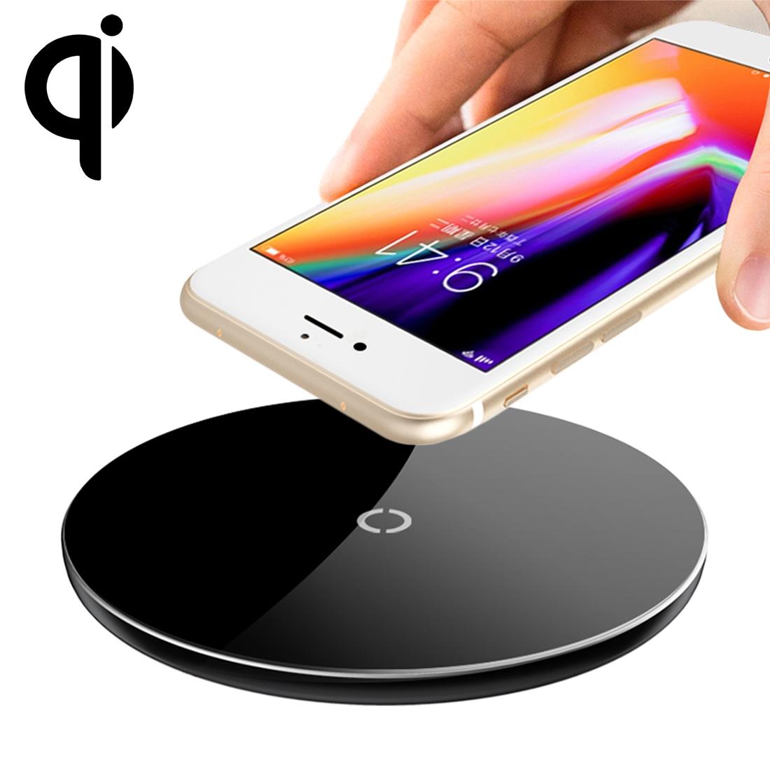 Bezdrátová rychlonabíječka Baseus pro iPhone / Android mobil - černá
