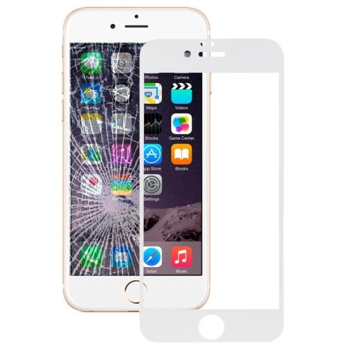 3D tvrzené sklo pro iPhone 6/ 6S - bílá