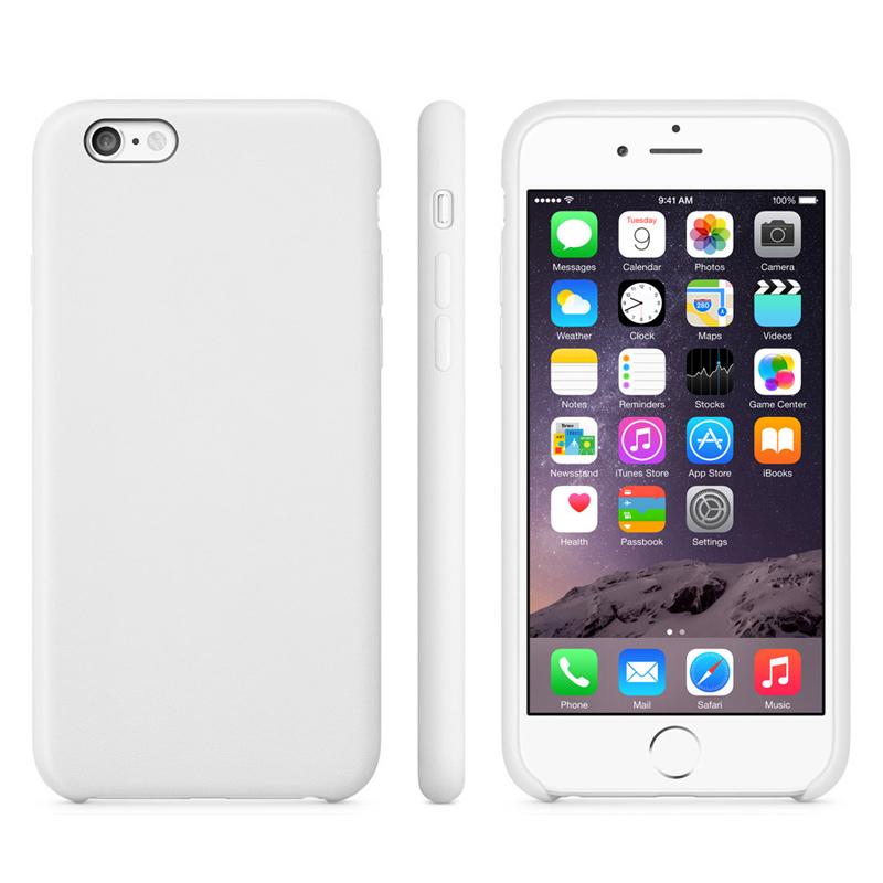 Liquid kryt na iPhone 6/ 6S - bílá