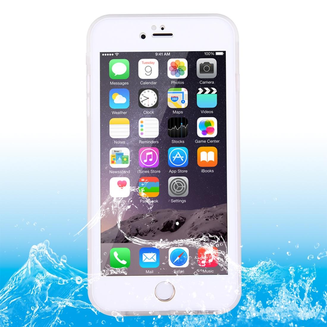 Voděodolné pouzdro na iPhone 6/ 6S - bílé