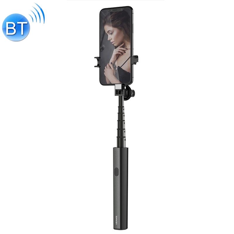 Bezdrátová Selfie tyč USAMS Premium - černá