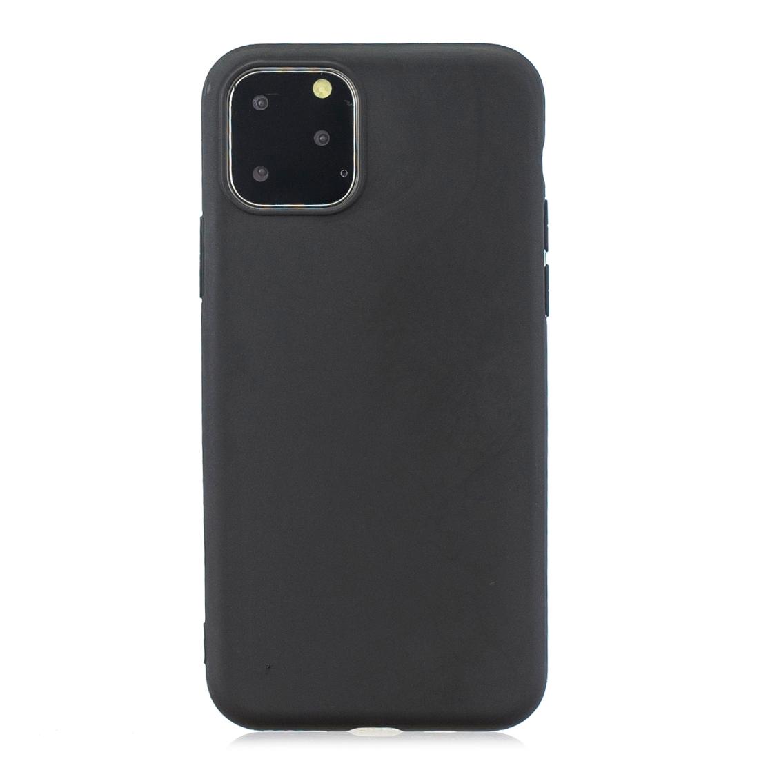 Matný silikonový obal na iPhone 11 Pro - černá