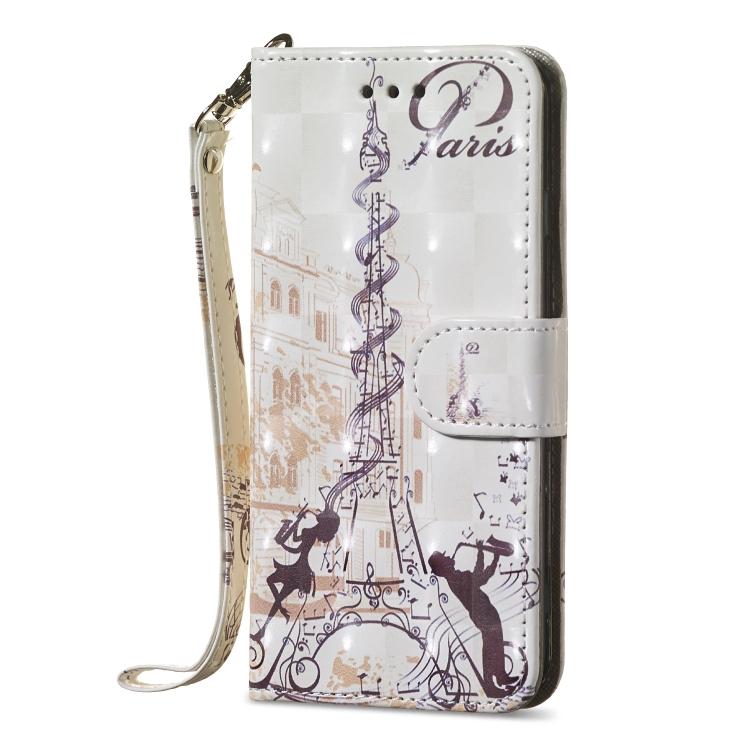 Flipové pouzdro na iPhone 7 Plus/ 8 Plus - Eiffelova věž