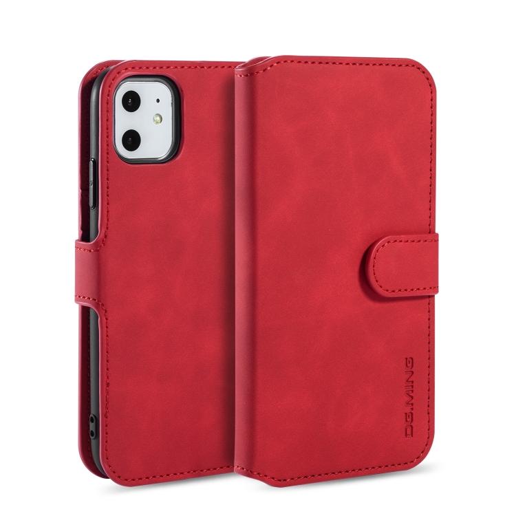 Flipové pouzdro pro iPhone 11 - červená