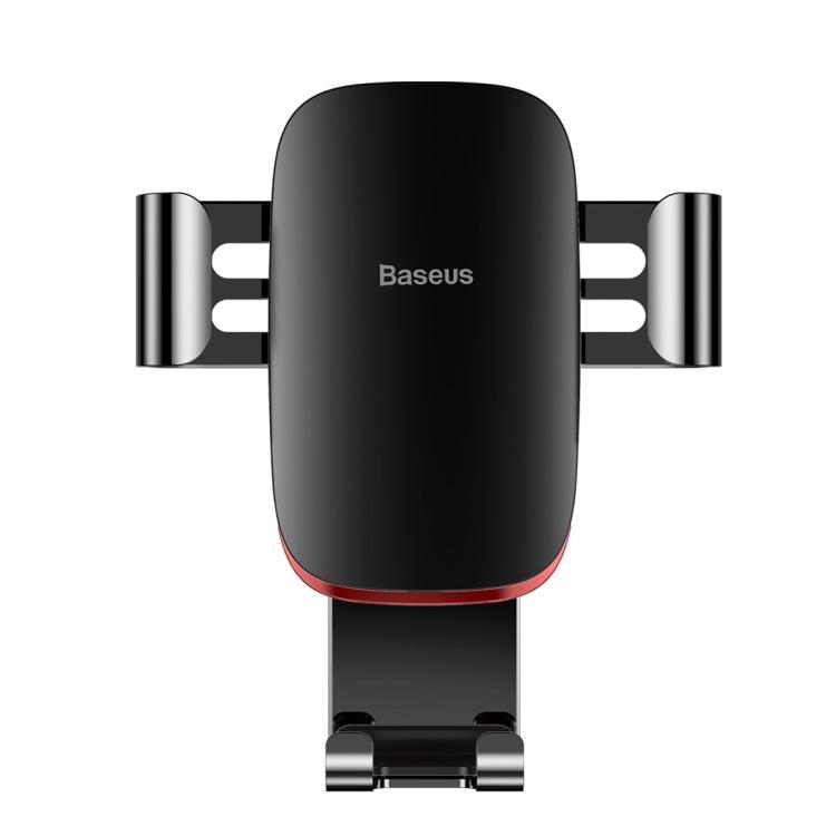 BASEUS mechanický držák na mobil do auta - černá