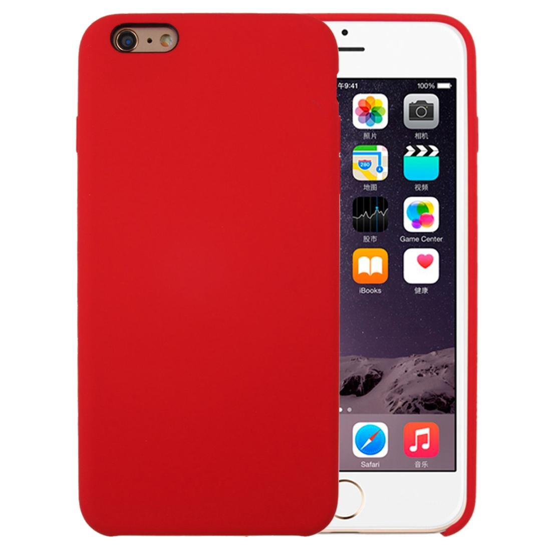 Liquid kryt na iPhone 6 Plus/ 6S Plus - červená