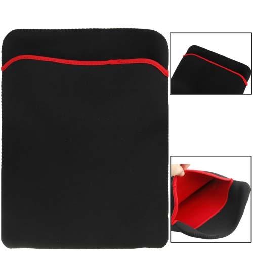 """Pouzdro Neopren na MacBook / notebook 14"""" - černo-červená"""