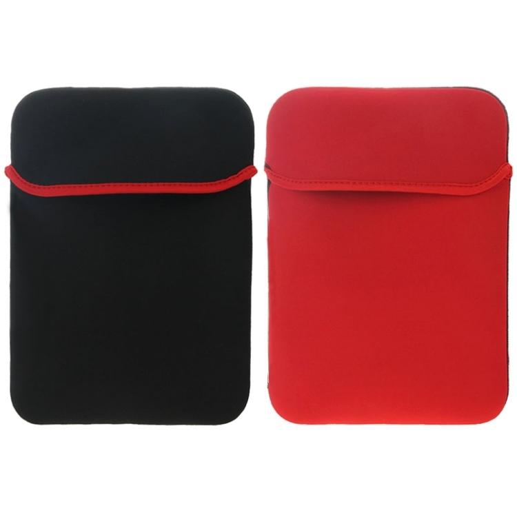 """Pouzdro Neopren na MacBook / notebook 15.6"""" - černo-červená"""