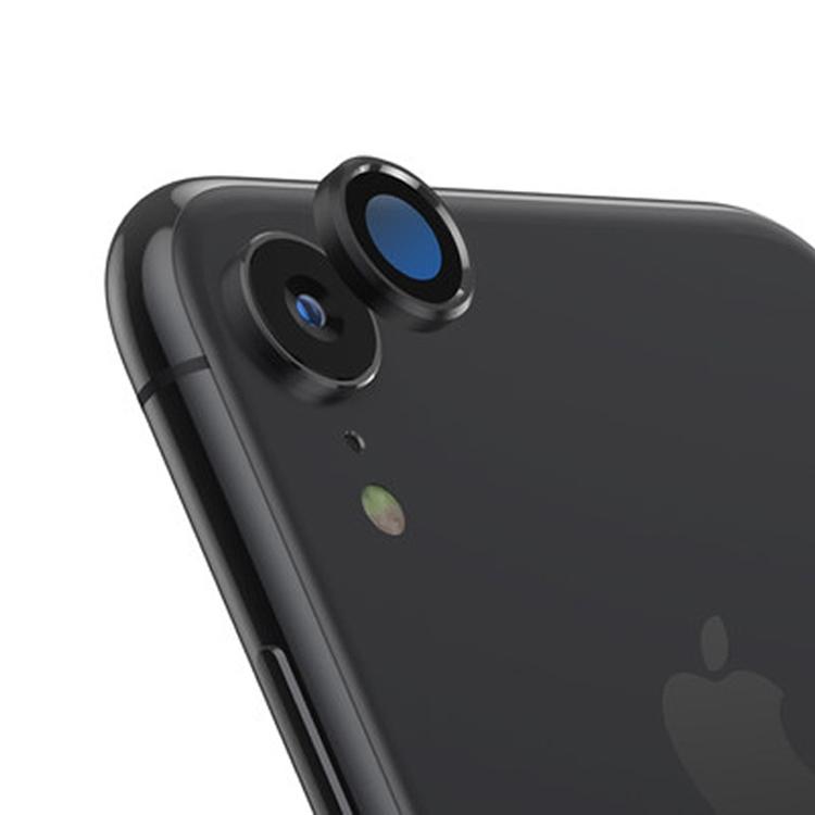Tvrzené sklo Titanium na zadní kameru iPhone XR - černá