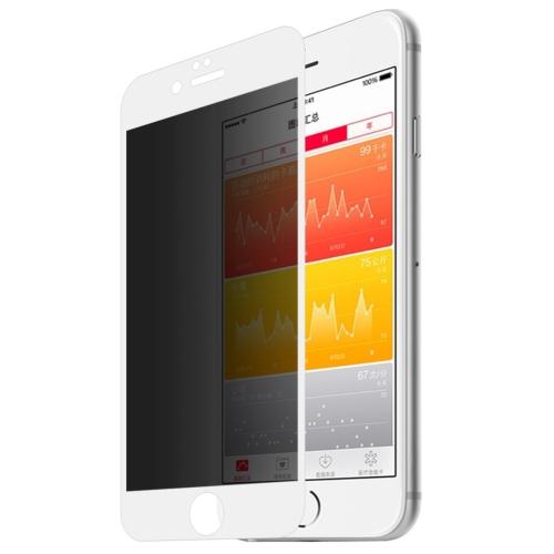 3D tvrzené sklo pro iPhone 6/ 6S (bezpečnostní) - bílá