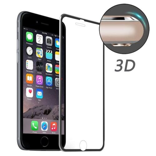 3D tvrzené sklo pro iPhone 6/ 6S - černý okraj