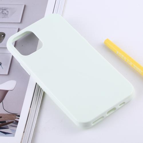 Matný silikonový obal na iPhone 11 Pro - bílá