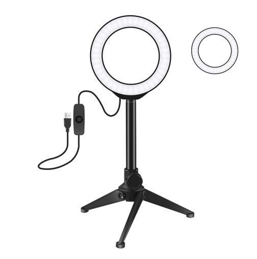 Kruhové LED světlo + stativ PULUZ