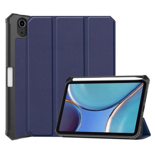 Obal na iPad mini 6 + slot pro Apple Pencil - modrá